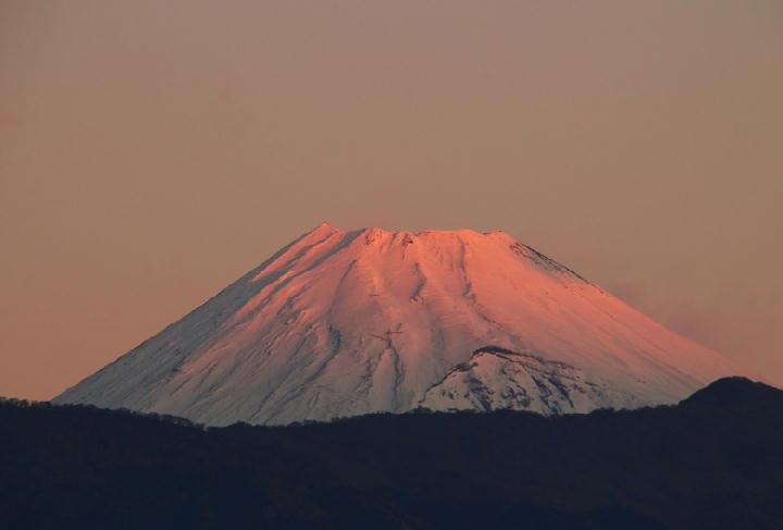 12月14 6-43 今朝の富士山1-1