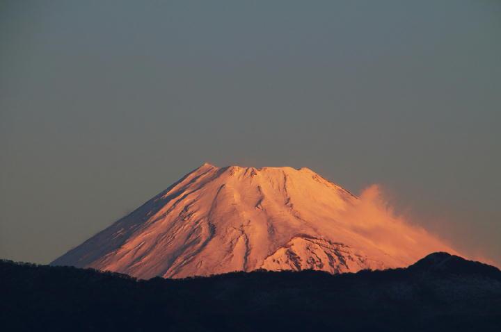 12月18 6-49 今朝の富士山-1