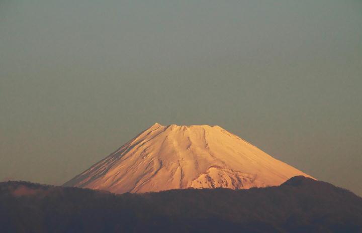 12月21 7-03 今朝の富士山-1