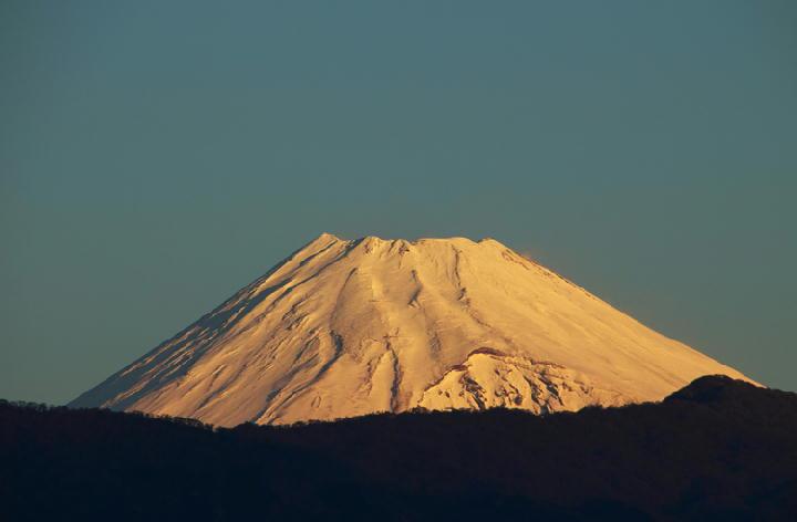 12月22 7-01 今朝の富士山-1