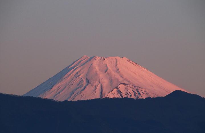 12月23 6-47 今朝の富士山-1