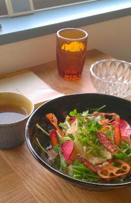 マクロビっぽいお豆腐丼
