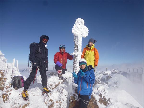 09 赤岳山頂