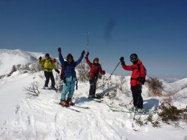 09赤面山の山頂