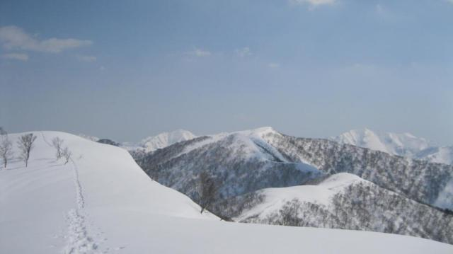 H260316 東谷山山スキー となりの日白山