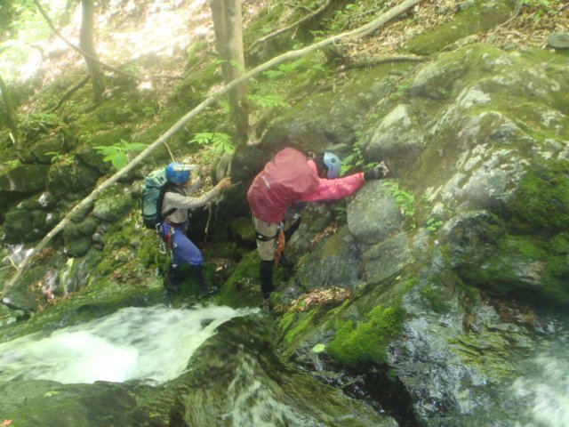 04小滝を超える