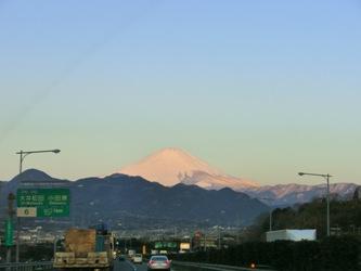 今年の富士山、雪多いね~