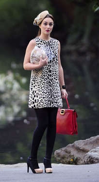 Blair-Waldorf-Style-and-Fashion-animal-print-dressup用