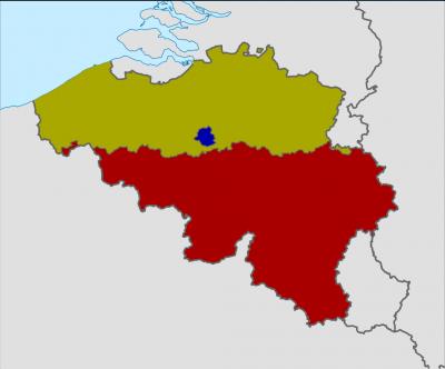 ベルギー地方区分