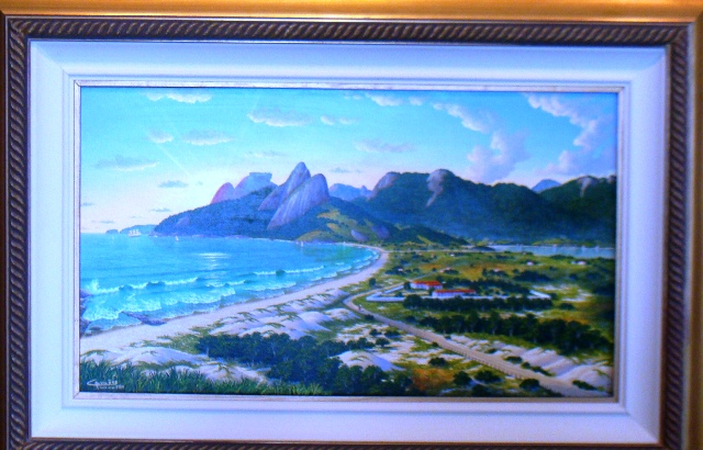 イパネマの油絵 1904年代とされる