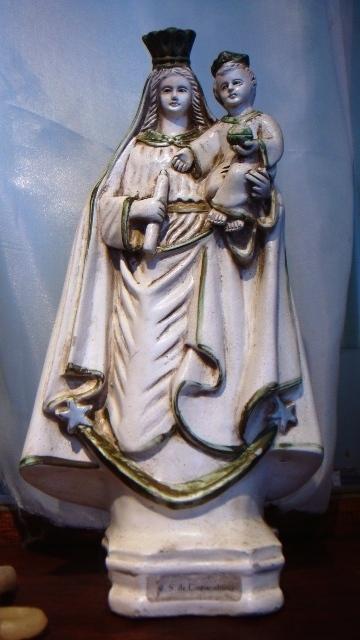コパカバナが付く全ての名称の元祖のノッサ・セニョラ ダ コパカバナ女神像