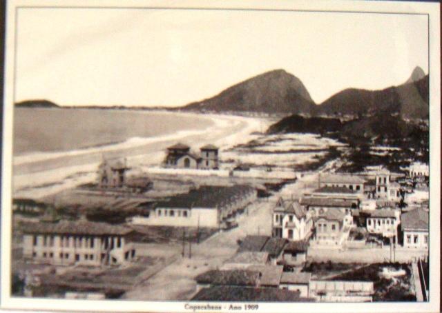 コパカバナ海岸 1909 年