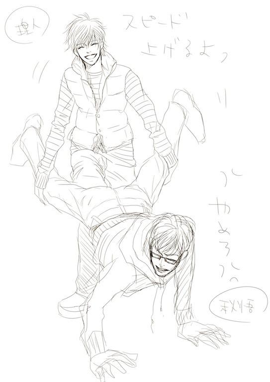 ワニ歩き02