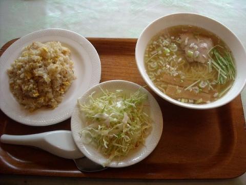 朱夏・炒飯とラーメンのセット