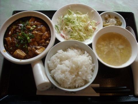 朱夏・マーボー定食