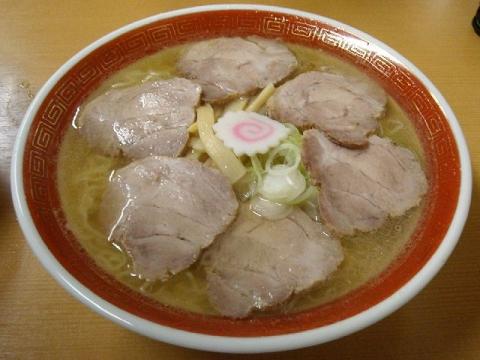 三吉屋・チャーシューメン大盛