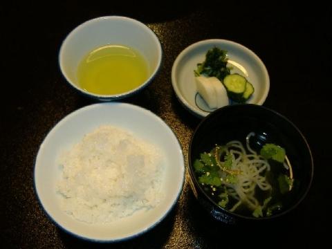 美松 夕食5