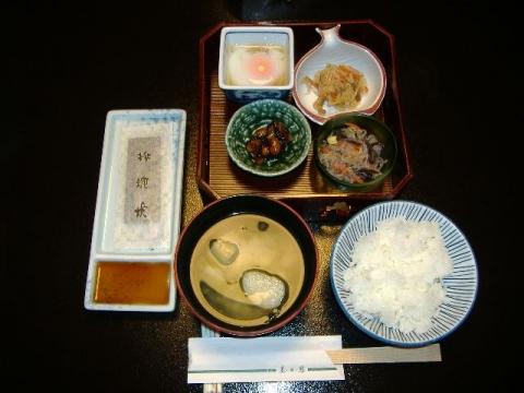 美松 朝食1