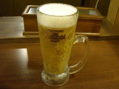 なんなん亭・生ビール