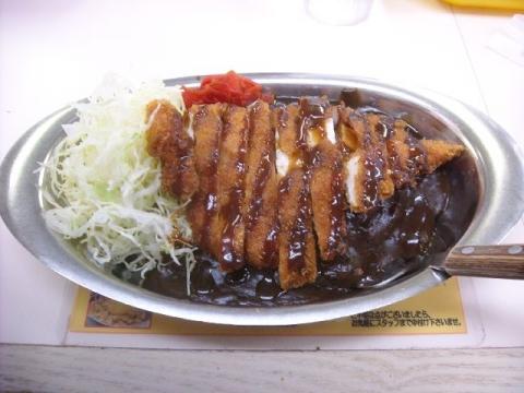 ゴーゴーカレー・チキンカツ(小)