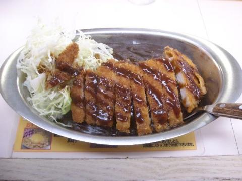 ゴーゴーカレー・ ロースカツ(小)