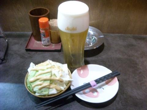 いち藤・生ビール