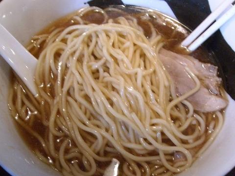 八・煮干し中華 麺