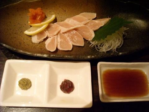 蔵・地鶏ササミタタキ