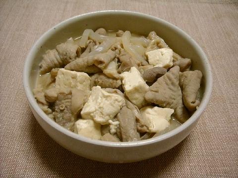 野菊・もつ煮2