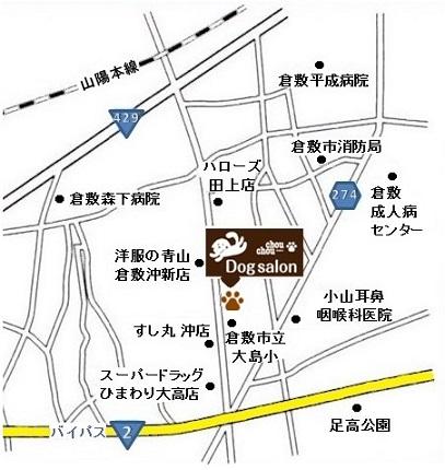 倉敷店地図