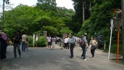 20140621大船駅から北鎌倉駅へ9