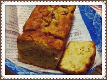 枇杷のパウンドケーキ