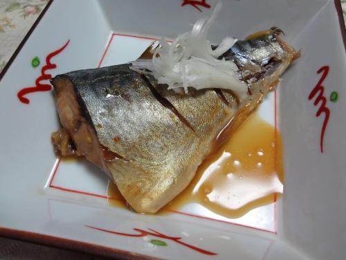 鯖の味噌に