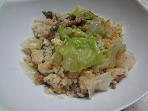 レタス炒飯