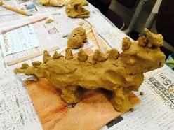 あいぶーの作品。『ティラノサウルス』
