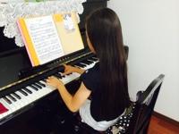 ピアノレッスン♪