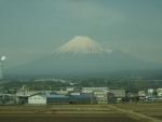 行く前の富士