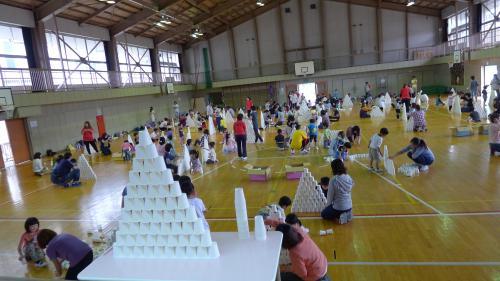 6/7油井幼稚園親子参観1