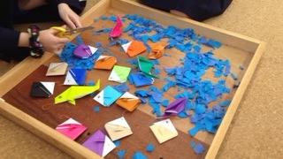 魚折り紙2