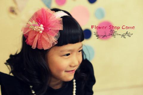 子供 かわいい 髪飾り
