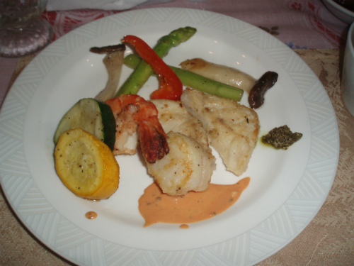 夏野菜とお魚