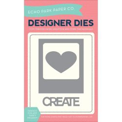 426959 [Echo Park Paper] Echo Park Dies (Heart Create Photo Card) 1090