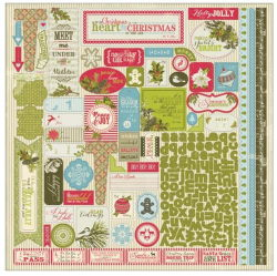 143173 [Authentique Paper] Believe Cardstock Stickers (Details) 465 0801
