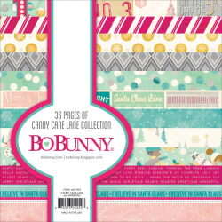 138635 [Bo Bunny] Candy Cane Lane Paper Pad 6インチ 36枚 670 0827