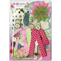 138636 [Bo Bunny] Candy Cane Lane Ephemera 1140 0827