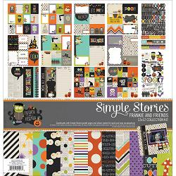 115700 [Simple Stories]コレクションキット 12インチ (Frankie Friends) 1710