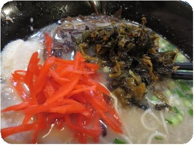 高菜・紅生姜