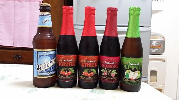 ベルギービールとアメリカビール