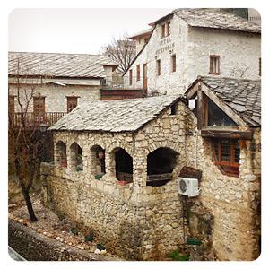 モスタルの素敵な建物
