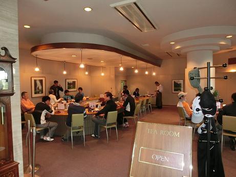 朝の喫茶店